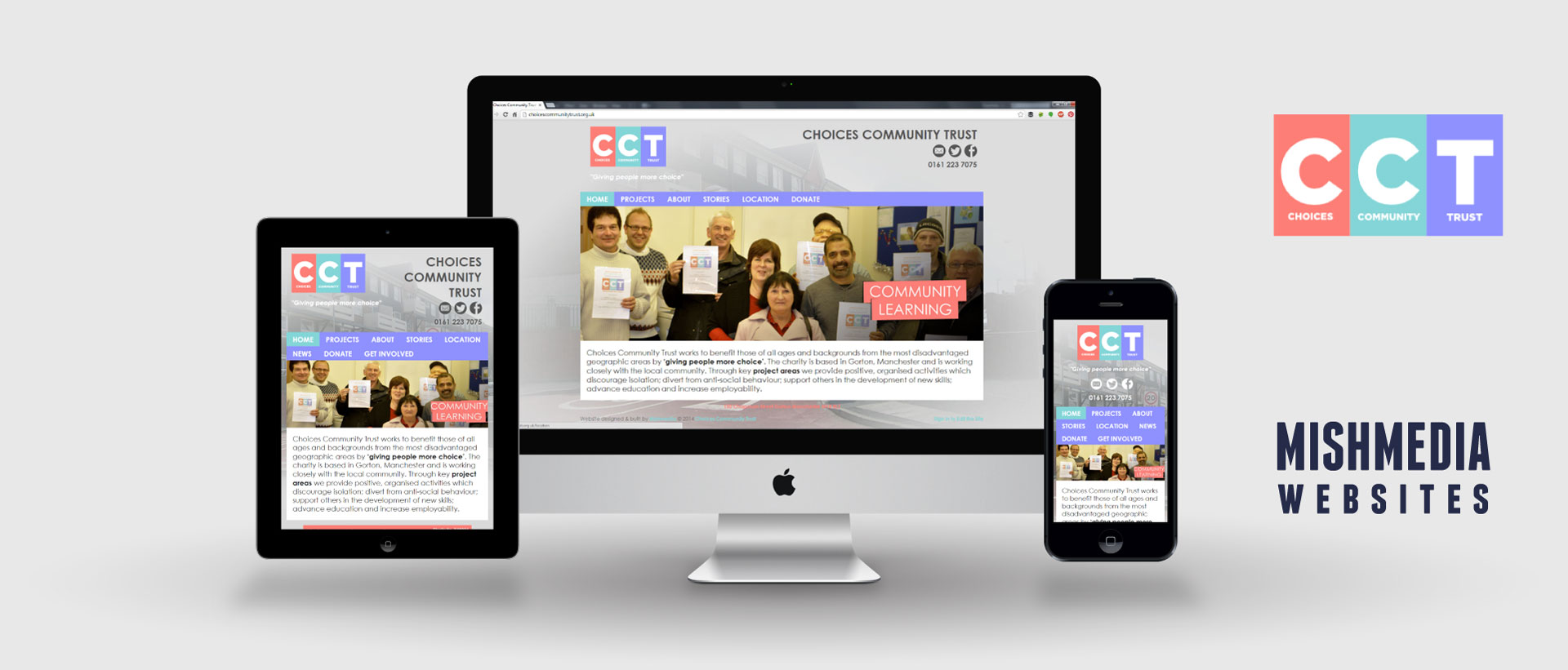 Choices Community Trust (CCT) Website
