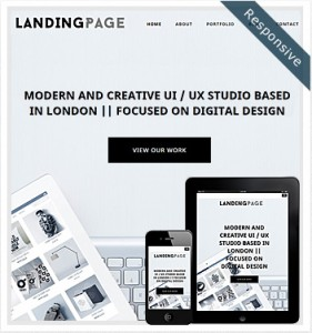 Landing Page Website Theme