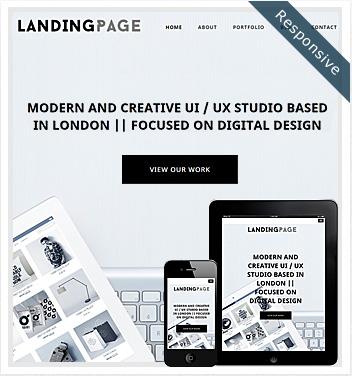 Landing Page Website Theme